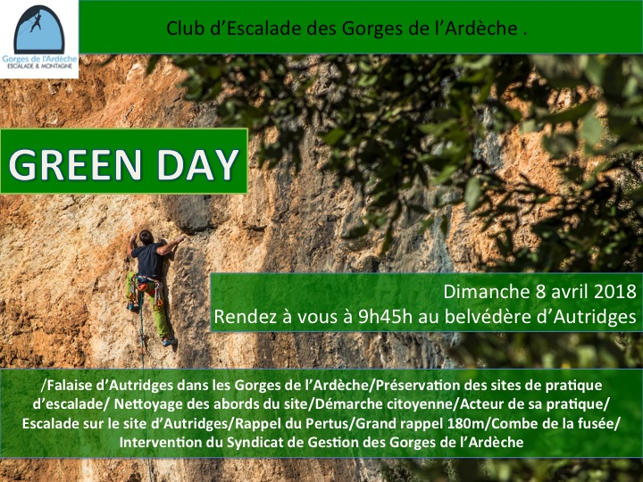 GREEN DAY Dimanche 8 avril